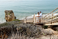 Daisy and Arturo Engagement, wedding and Quinceaneras photographers at El Matador State Beach in Malibu Ca, www.gustavovillarrealphotography.com, 323-633-8283