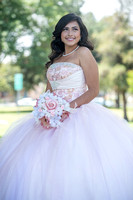 Sidney Esqueda Quinceaneras photography and video in Montebello Womens Club, Quinceaneras in pink dresses, www.gustavovillarreal.com, 323-633-8283