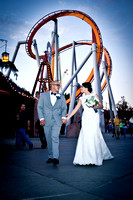 Melissa and Rafael Weddings photographers in Knotts Berry Farms in Buena Park Ca, www.gustavovillarrealphotography.com, 323-633-8283