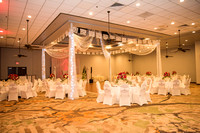 Angelica and Daniel wedding reception at Double Tree Hotel in Wh