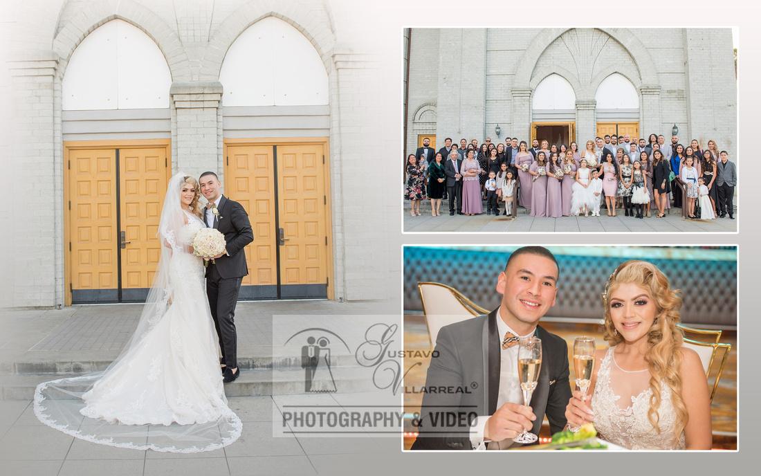 Gerardo y Azucena wedding ceremony at Our Lady of Perpetual Church in Downey Ca, www.gustavovillarreal.com, 323-633-8283